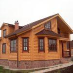 Блок хаус для наружной отделки дома