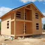 Строительство дома из строганного бруса