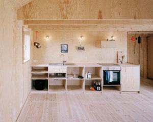 Отделка деревянного дома фанерой