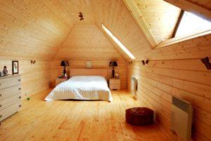 Отделка деревянного дома имитацией бруса